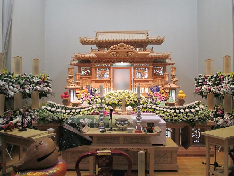 ヘキサホール・きぬ 一般葬 大式場