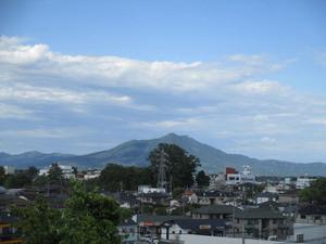 筑波山を臨む景色