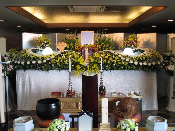 一般葬 夢渓(5階)生花プランの画像