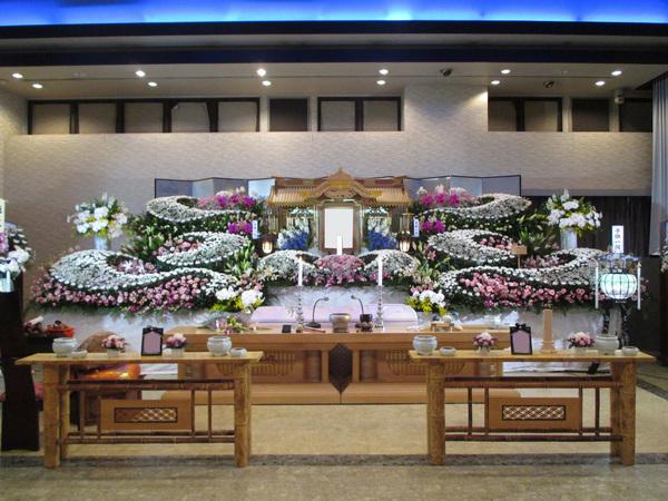 一般葬 紫鳳(2階)生花プランの画像