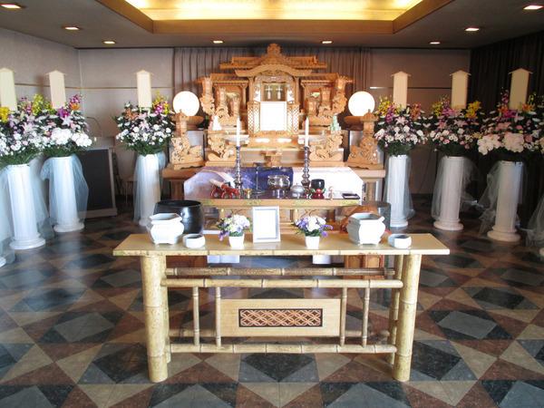 一般葬 夢渓(5階)白木祭壇プランの画像