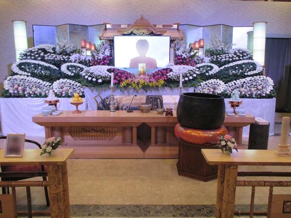 一般葬 紫鳳(2階)生花組込プランの画像