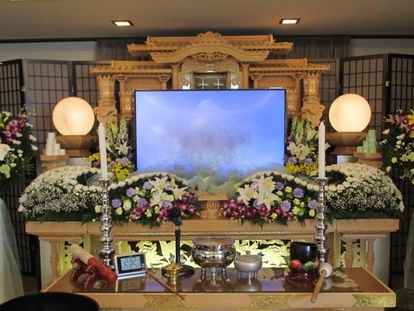 一般葬 夢渓(5階)生花組込プランの画像
