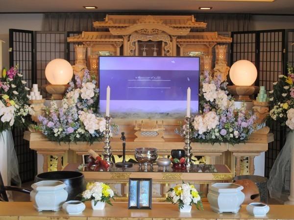 家族葬Bプラン(告別式のみ)の画像