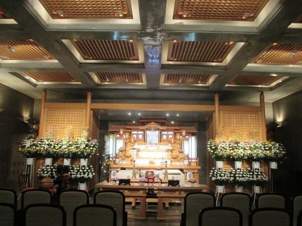 つくばメモリアル 一般葬 白木祭壇の画像
